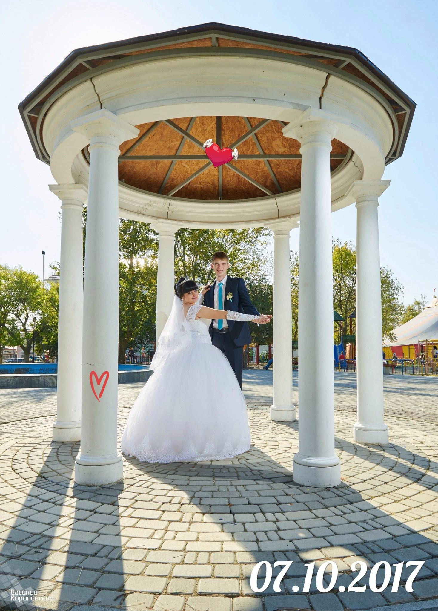 Съемка нашей свадьбы